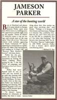 Jameson Parker  Article A star of the hunting World